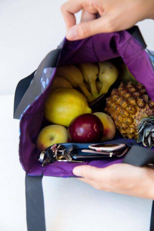 Ecobag bolsa leva e traz - parte interna