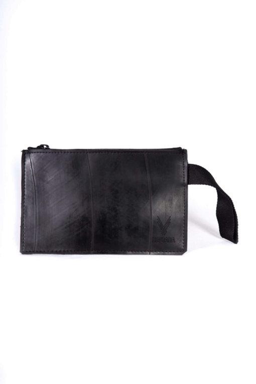 Bolsa de mão feita com câmara de pneu Revoada - frente