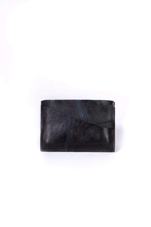 Mini carteira Revoada feita com câmara de pneu - frente